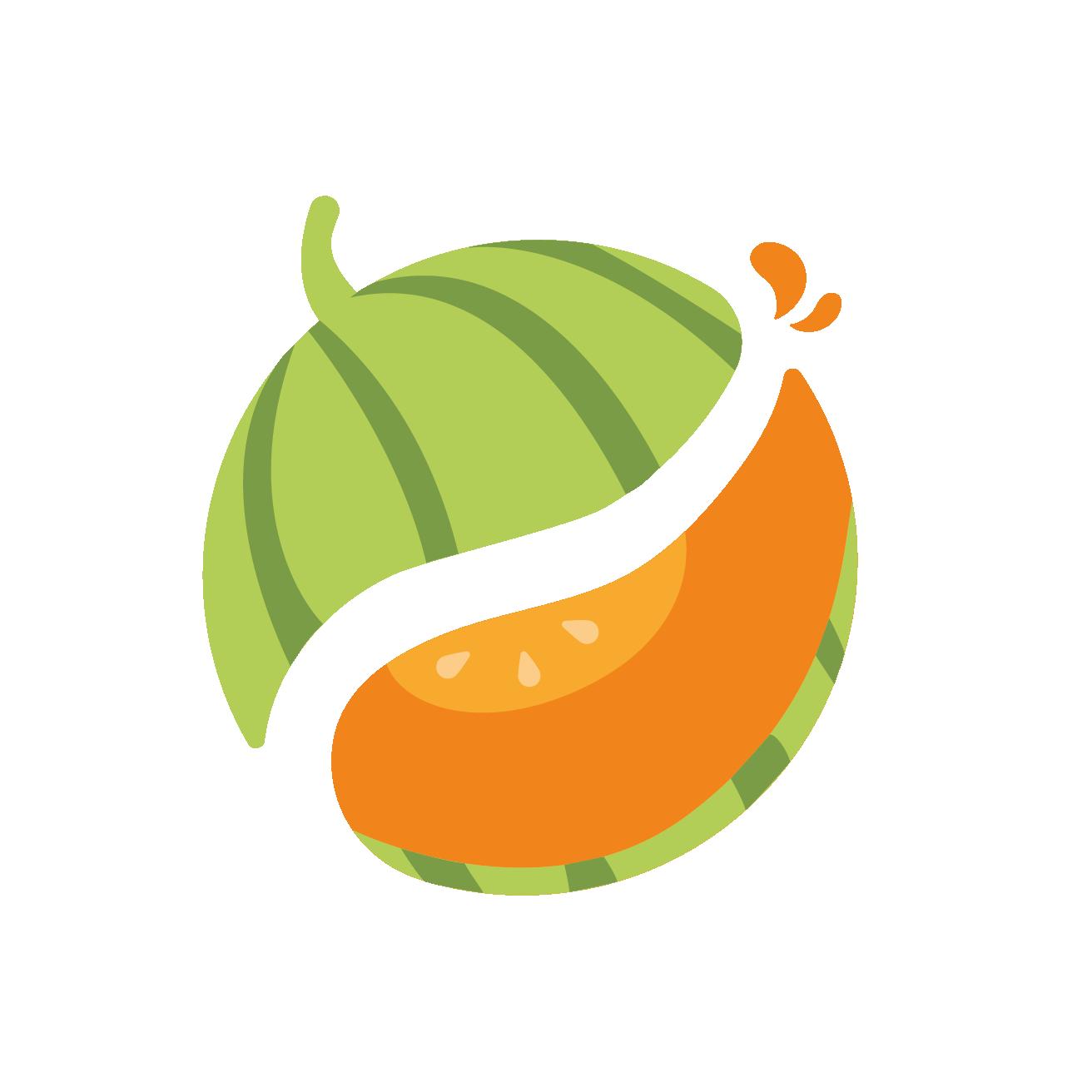 favicon melon