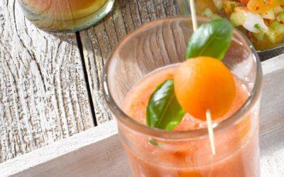 Soupe fraicheur de melon