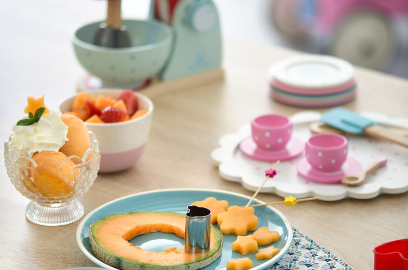 Atelier créatif melon pour les kids